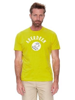 Cortefiel Camiseta Gráfica (Amarillo)