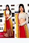 Jacqueline In White And Red Lehenga Choli At Saifta Award