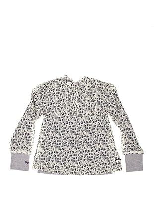 Pepe Jeans London Blusa y Camiseta Gema (Blanco / Marino)
