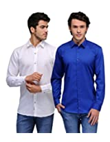 Feed Up Combo of 2 Men's Shirts 42