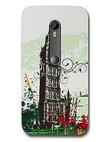 Connexions Accessories Designer Back Cover For Motorola Moto G Turbo-Multi Color