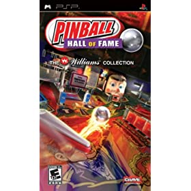 Pinball Hall of Fame the Williams Collection (PSP �A��Ł@�k�āj