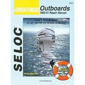 【クリックで詳細表示】Johnson/Evinrude Outboards 1992-01 Repair Manual: All V-Engines, 65-300 Hp [ペーパーバック]