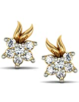 Avsar Real Gold and Diamond Chitra Earrings AVE032