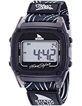 Freestyle Freestyle Unisex 10019187 Shark Clip Digital Display Japanese Quartz Black Watch - 10019187