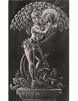 DollsofIndia The Apsara - Painting on Silk - Unframed