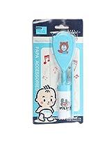 PAPA Baby Musical Hair-Brush & Comb Set (Blue)