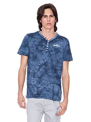 Gio Goi Camiseta Elmoor (azul/negro)