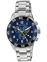 Nautica Sports Chronograph Navy Dial Men's Watch - NAI17508G