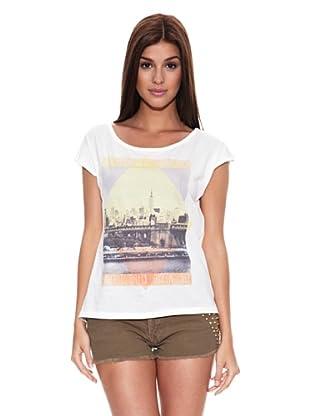 Springfield Camiseta T Ciudad 1 (Blanco)
