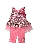 Little Kangaroos Baby-Girls Pink Dress (8903208864690_Pink_12-18 Months)