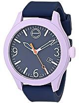 Esq Movado Esq Movado Unisex 07101429 One Analog Display Swiss Quartz Blue Watch - 7101429
