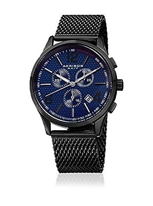 Akribos XXIV Reloj con movimiento cuarzo suizo Man AK719BU Black