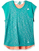adidas Women's Back Detail T-Shirt