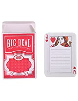 Cool Trends Playing Cards Memopad