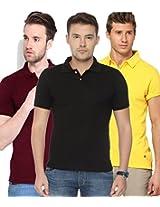 Concepts Men's Casual Shirt (TSHT_C3_BKYWMR_Multi_44)
