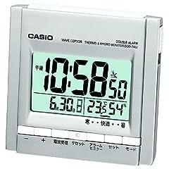 CASIO 置時計 WAVE CEPTOR 電波時計 温度・湿度表示 DQD-700J-8JF