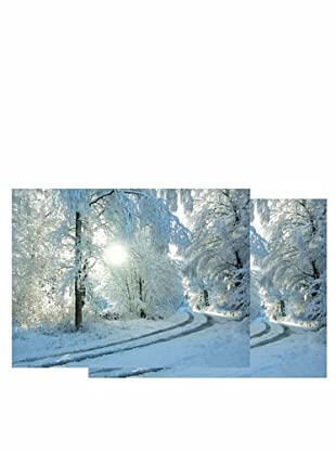 Nouvelles Images Winter Road 2-Pack Greeting Cards