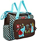 Fisher Price Diaper Bag - E For Elephant - Brown