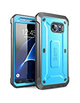 SUPCASE Cell Phone Case for Samsung Galaxy S7 - Retail Packaging - Blue/Black