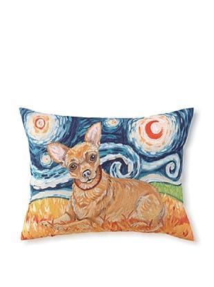 Van Growl Chihuahua Pillow