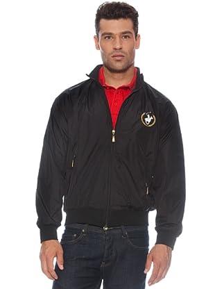 Polo Club Chaqueta deportiva cremallera (Negro)