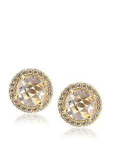 Belargo Women's Debutante Stud Earrings, Gold