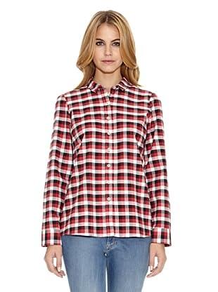 El Ganso Camisa Fredy Cuadros Vichy (Negro / Rojo / Blanco)