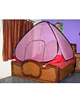 Shoppingbaaz Tent Style Mosquito Net With Base Cloth