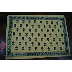 Gajgauri Hand Block Printed Table Mats