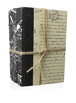 Go Home Roar White on Black Book Set, White/Black