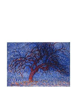 Legendarte Leinwandbild L'Albero Rosso