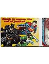 Justice League Superhero Invitations With 8 Invitations And 8 Thank-You Postcards