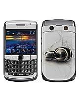Garskin Protective Skin for BlackBerry Bold 9700 Mobile Phone - Afterburn White Design
