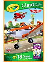 Disney Planes Crayola 18 Giant Coloring Pages by Crayola
