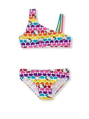 Hello Kitty Girl's 2-6X Bikini Set (Hot Pink)
