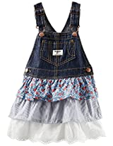 OshKosh B'gosh Triple Tiered Jumper (Baby) - Denim-24 Months