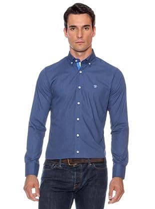 Devota & Lomba Camisa Gabriel Lisa (Azul Marino)