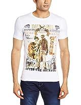Status Quo Men's Round Neck Cotton T-Shirt