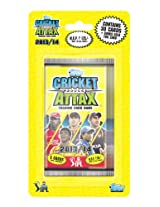 Topps Cricket Attax IPL 2013 Blister, Multi Color (6 Pack)