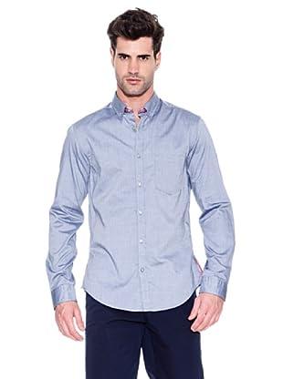 Hugo Boss Camisa Banyan (Azul)