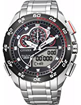 Citizen Analog-Digital Black Dial Men's Watch - JW0126-58E