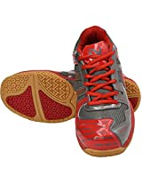 V22 Ultra Badminton shoes - Dark Grey & Red - 11 UK