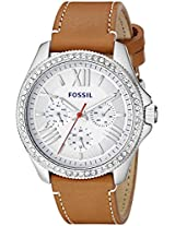 Fossil Womens AM4623 Cecile Analog Display Analog Quartz Brown Watch