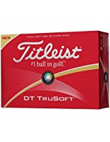 Titleist DT Solo Tru Soft Golf Ball White