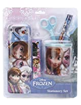 Frozen Stationery Set, Blue (6 Pieces)