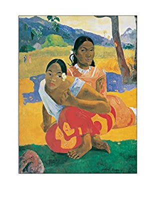 Artopweb Wandbild Gauguin When Will You Marry? 80 x60 cm mehrfarbig