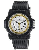 Maxima Analog White Dial Men's Watch - 12030PPGW