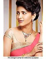 Bollywood Replica Shruti Haasan 60 Gram Georgette Saree In Light Pink Colour Nc703