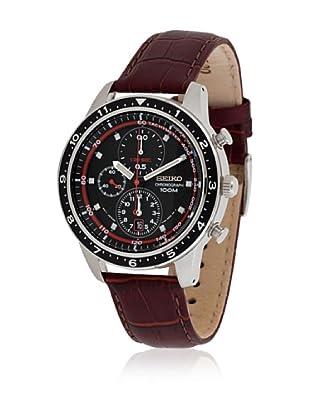 Seiko Reloj SNDF45P1 Negro / Rojo